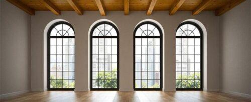 Арочные окна от компании «Окна в Дом»